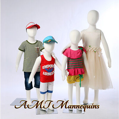 Child Full Body Mannequinstand Removable Head Flexible Pinnable4 Kids Manikins