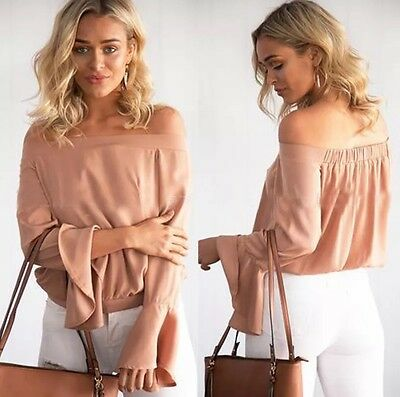 New Women' Lady Summer Fashion Loose Long Sleeve Tops Casual T Shirt Blouse