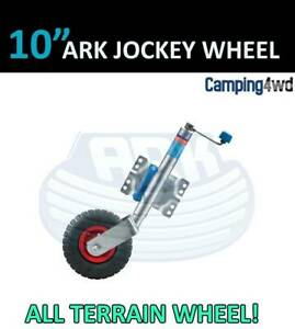 NEW! 10 Inch All terrain Ark Jockey Wheel Caravan Trailer boat $90