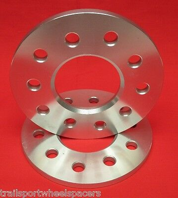 "2pc 5/16"" WHEELS BILLET SPACERS Chevy Camaro Corvette 5x4.75"