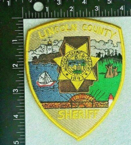 LINCOLN COUNTY OREGON SHERIFF