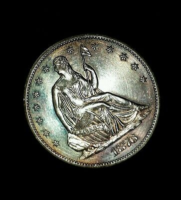 Click now to see the BUY IT NOW Price! 1876 S 50C LIBERTY SEATED HALF DOLLAR CHOICE/GEM UNCIRCULATED SEMI PL INCREDIBLE
