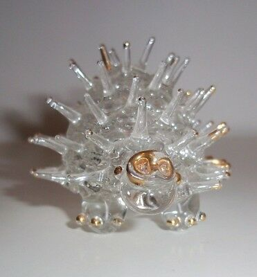 CUTE HANDMADE VINTAGE HEDGEHOG PAPERWEIGHT