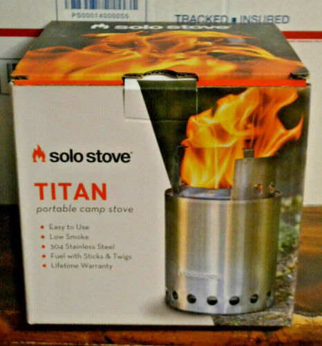 NEW - TITAN by Solo Stove Camping Hiking Stove