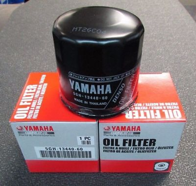 YAMAHA OEM Oil Filter 2-PACK VX Cruiser Deluxe VX110 F70 F50 F15 5GH-13440-50-00 for sale  Shipping to South Africa
