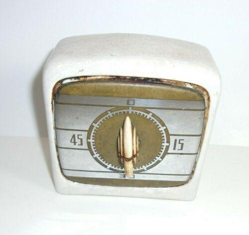 Vintage Kitchen Stove Porcelain Timer Art Deco Look