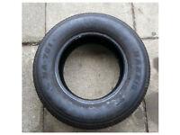 Maxxis Part Worn Tyre 205/70 R15 5-6mm tread barley used 205 70 14