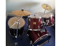 Drum kit - Used Stagg 'Tim' 7 piece (full size)