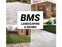 BMS Landscaping & Paving Driveway installer Garden Landscaper Block paving Indian Sandstone Patio