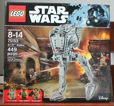 LEGO Star Wars 75153 AT-ST Walker New Sealed Retired 2016