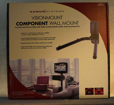 VISIONMOUNT COMPONENT WALL MOUNT (VMAVb-01) by Sanus Systems 01 Wall Mount