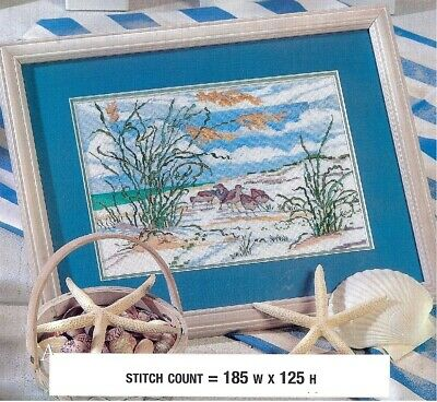 SANDPIPER  DUNES  CROSS  STITCH  PATTERN  ONLY  PY - -