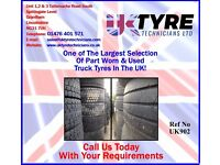 Part Worn & Used Truck Tyres