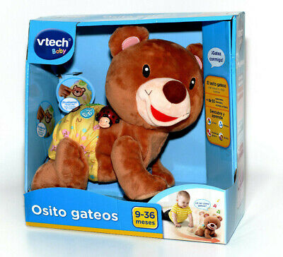 B-Ware Vtech Baby Krabbelbär Osito Gateos Ab 9Monate Mehrfarbig Fördern Spanisch
