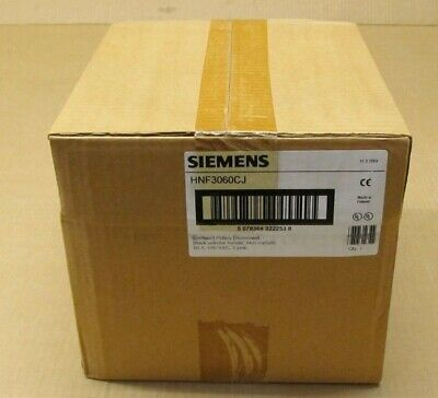 1 Nib Siemens Hnf3060cj Enclosed Rotary Disconnect Switch 60a 600v 3p 25 Avail