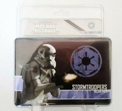 STAR WARS IMPERIAL ASSAULT: Stormtroopers expansion pack (sealed and boxed)