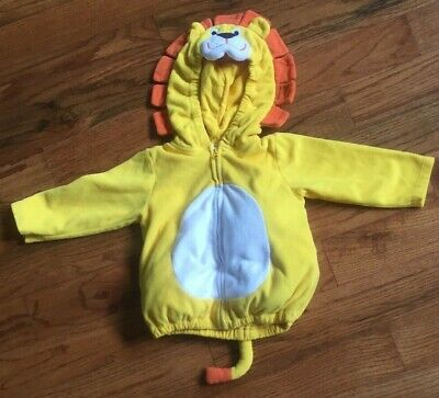 Halloween Costume Baby Lion (Carter's Baby Unisex Lion Yellow Padded Halloween Costume Size 18 Months )