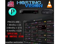 12 Mnths IPTV || 100% || RELIABLE