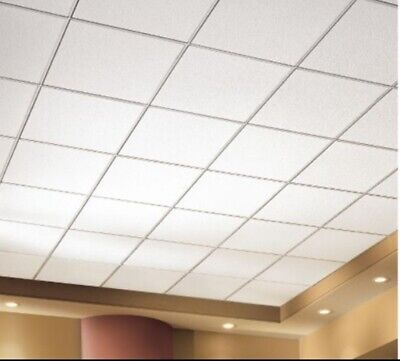 Conwed Natural Fissured 12x12 Spline Type 5//8 Square Edge Ceiling Tile 52-428