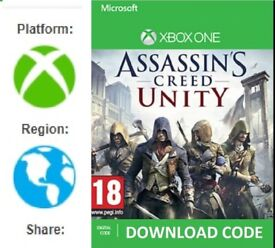 Assassins Creed Unity FULL GAME DOWNLOAD for Xbox One (region free)