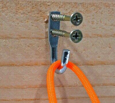 Rope Binding Hook - GOLBERG Steel Rope Binding Hook Tie Down Zinc Plated 11/16, 5/8, 7/16, 7/8 Inch