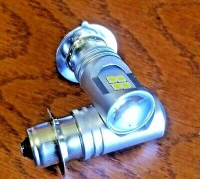 2 Ex Bright Led Light Bulbs New Holland 1520 1530 Sba385120630 Headlight Tractor