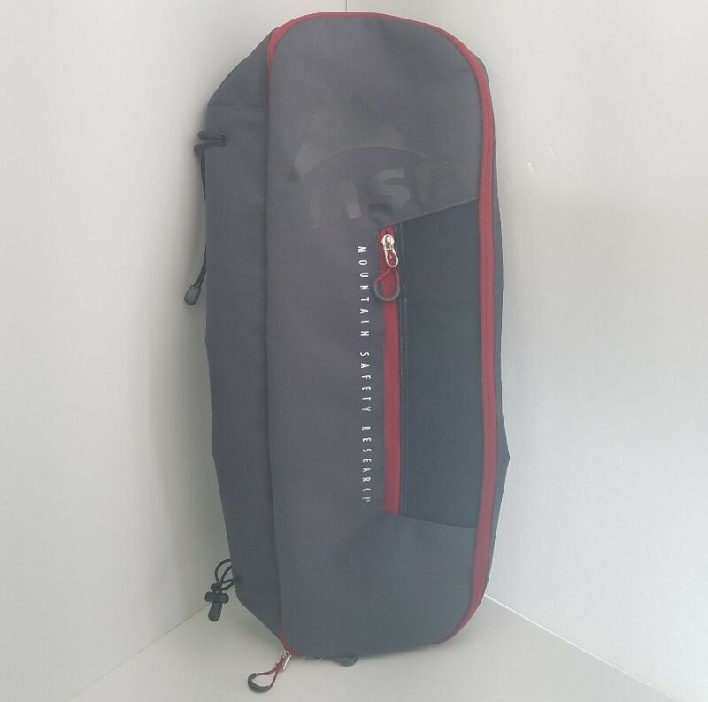 """MSR Snowshoe Bag Gray Mountain Safety Research Carrying, Packing and Storing 25"""""""