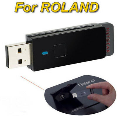 For Roland Piano Netgear WNA1100 Wireless N USB Adapter Wifi Dongle WPS WLAN (Wireless-n-usb-adapter)