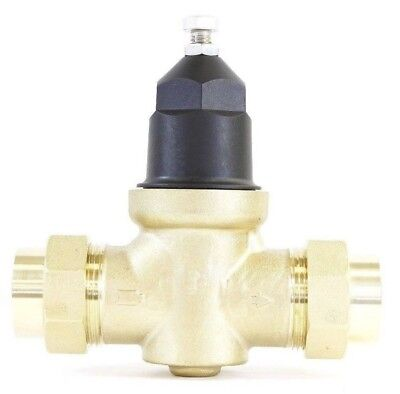 New Npt 34 Water Pressure Reducing Valve Doubleunion Brass Lead Free Threaded
