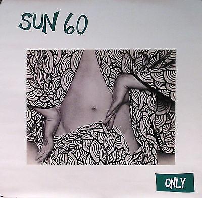 Sun 60 Only Original Promo Poster 1993