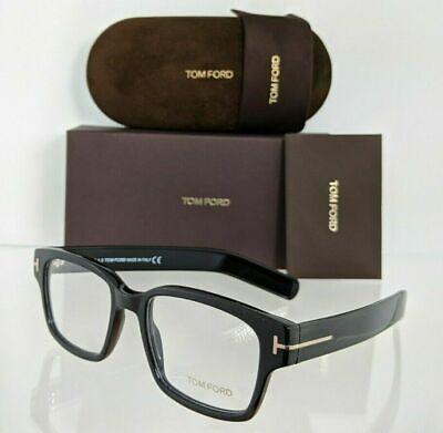 Brand New Authentic Tom Ford TF 5527 001 Eyeglasses Frame FT 5527 50 mm Black (Eyeglasses Tom Ford)