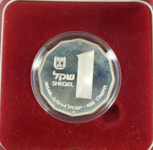 1985 Israeli Silver Proof Coin - Capernaeum - Box/COA