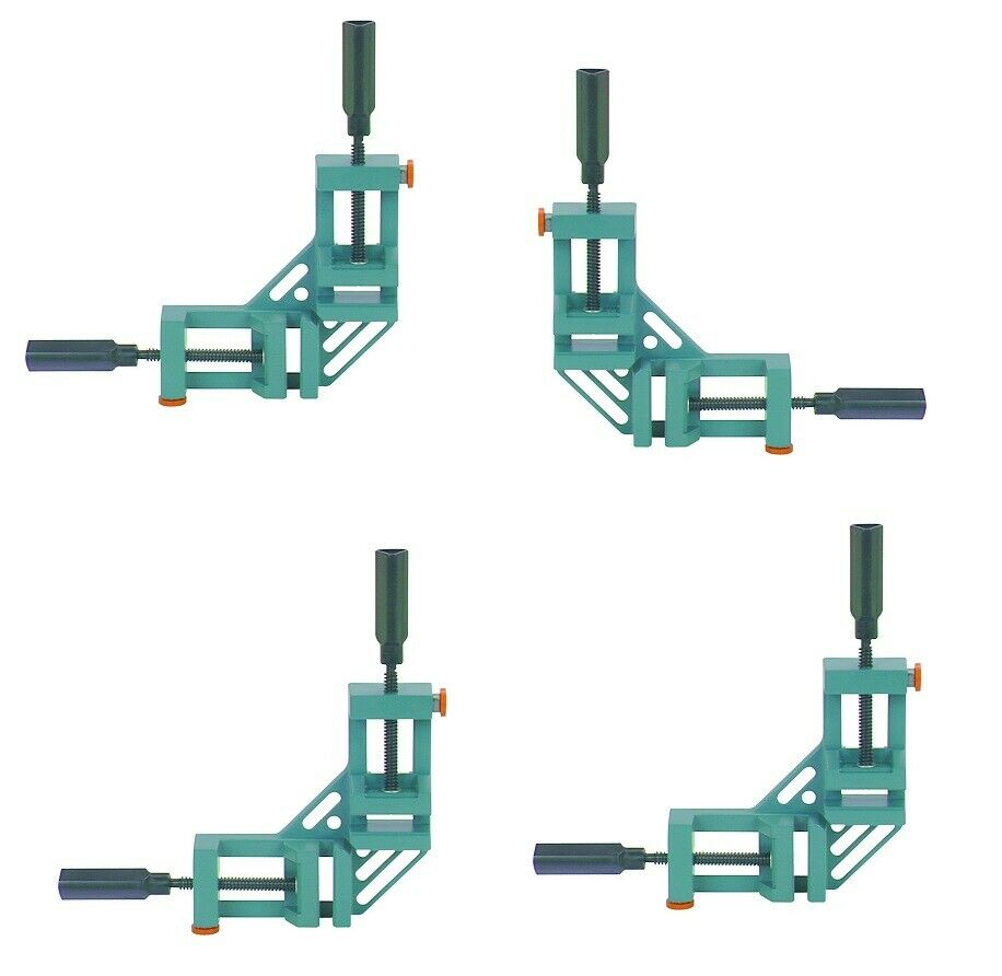 Corner Clamp With Quick Release, 4x each