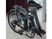 Raleigh Evo 7 Folding Bike