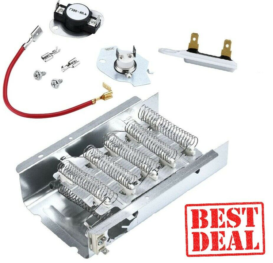 Dryer Heating Heater Kit For Kenmore 70 80 Series With Therm