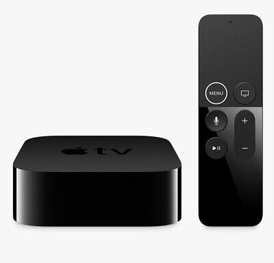 Apple TV Box 4th Generation Internet TV Media Streamer Siri Remote 32GB C Grade