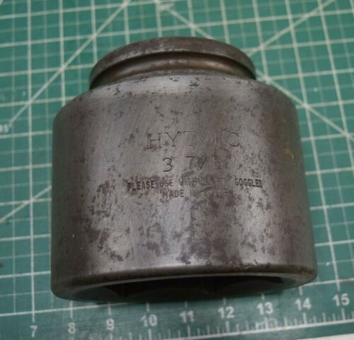 """Hytorc 1-1/2"""" Drive 3-7/8"""" Impact Socket  Made in Sweden"""