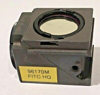 Nikon Fitc Hq Fluorescence Filter Cube Block For Eclipse Microscopes