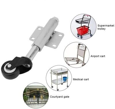 Gate Stem Wheel - 2 Pu Gate Wheel Heavy Duty Spring Loaded Swivel Caster 110lbs