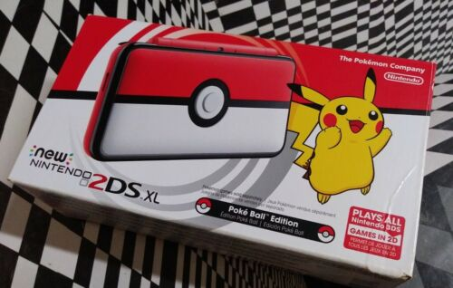 2ds xl poke ball edition console brand