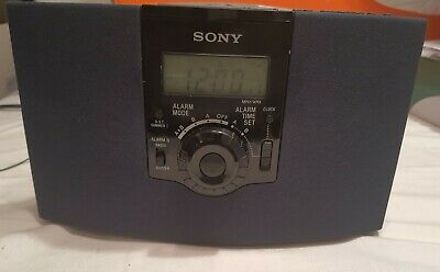 Sony Dream Machine ICF-CD823 AM FM CD Clock Radio Alarm Clock Works! FREE SHIP!