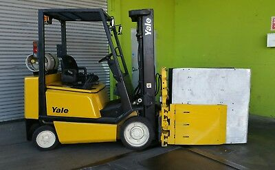 2003 Yale Forklift Glc050 With Carton Clamp