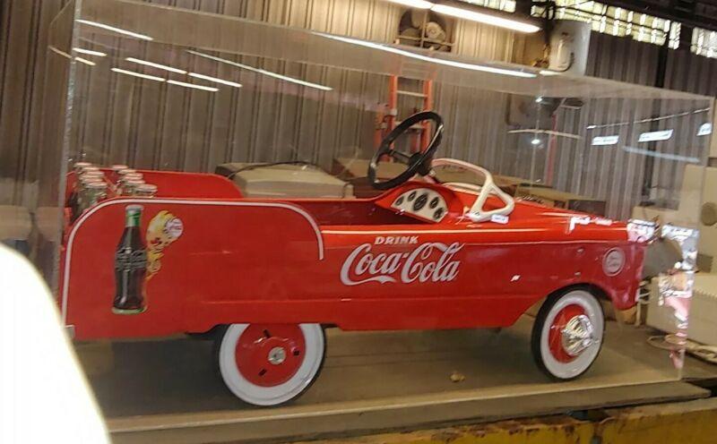 Rare Collector Coca-Cola pedal Car, Coke truck! Possibly one of a kind!