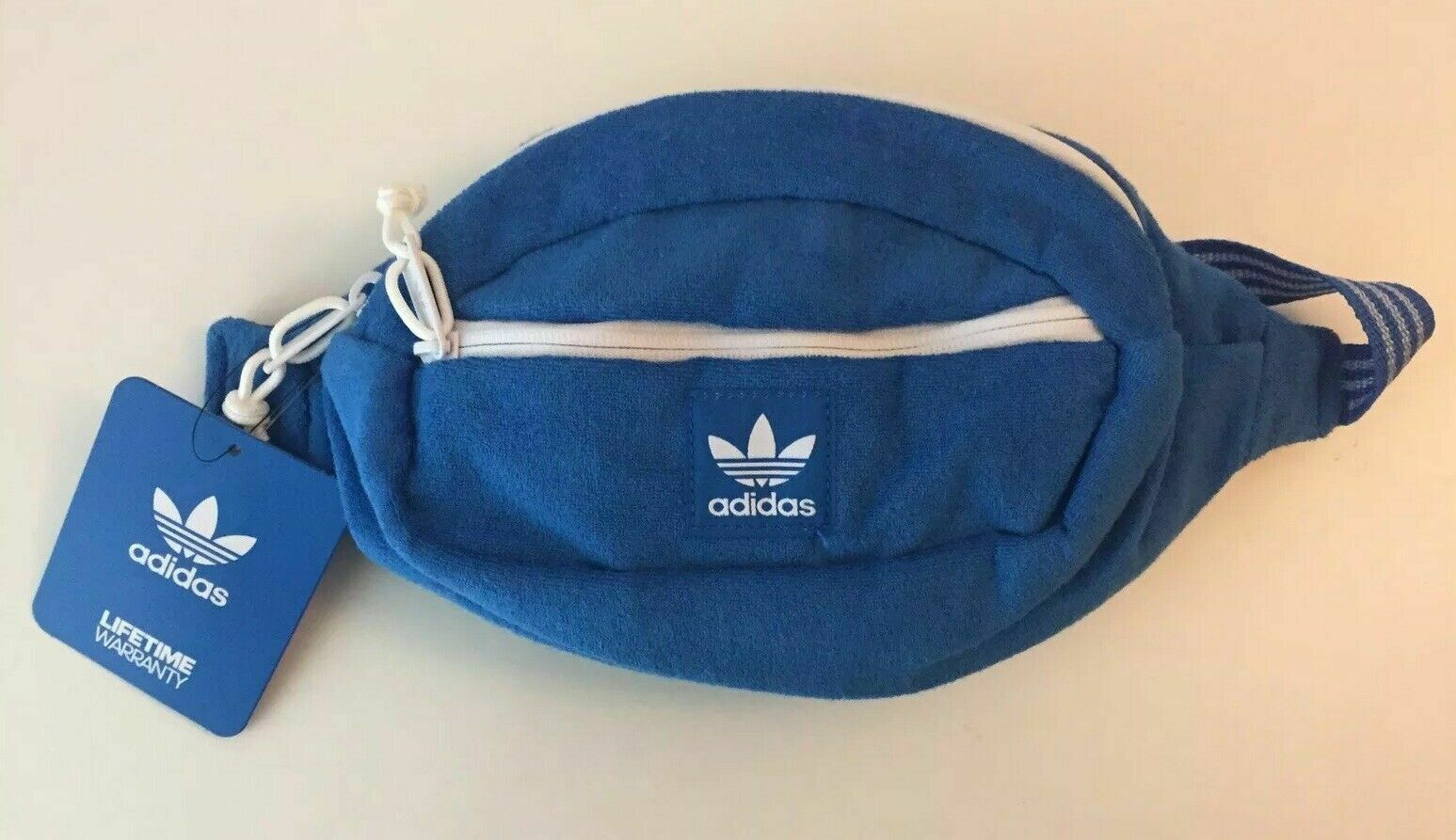 ADIDAS OG Originals Terry Blue Fanny Pack Waist bag FREE SHI