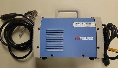 Arc Welder 205ds 110220v Hot Start Stick Welding Machine