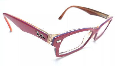 Ray-Ban RB1530 3590 Kid's Eyeglass Frames 48-16mm Hot Pink/Brown (Hot Pink Ray Bans)