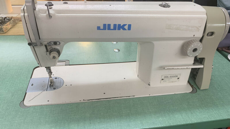 JUKI DDL-5550N HIGH SPEED SINGLE NEEDLE INDUSTRIAL SEWING MACHINE