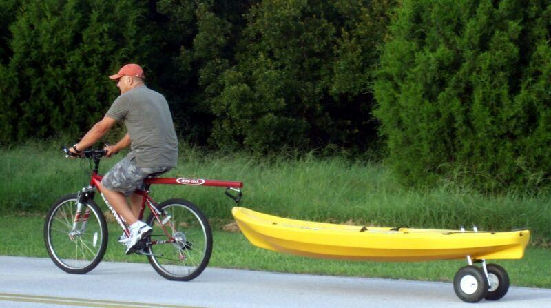 Kayak Tow Bar, Bicycle Tow Bar, SUP, Kayak Trailer, Dumb Stick, Bicycle Trailer