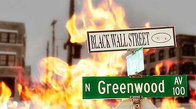 Black Wall Street 3 Dvds 1921 Greenwood Tulsa Oklahoma Attack Bombing Holocaust