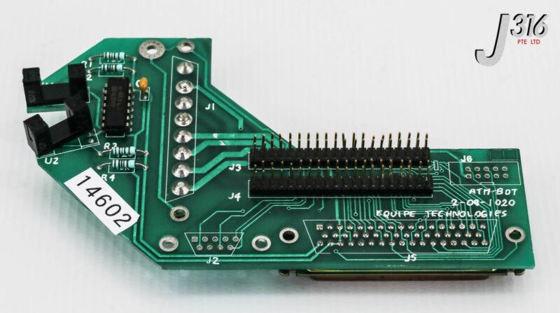 14602 Equipe Technologies Atm Robot, Pcb 2-08-1020